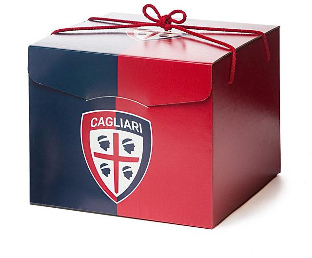 S'Isula scatola di Natale del Cagliari Calcio